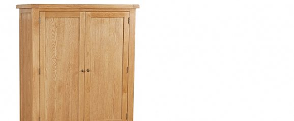 Cheltenham Oak Gent 3 Drawer Wardrobe