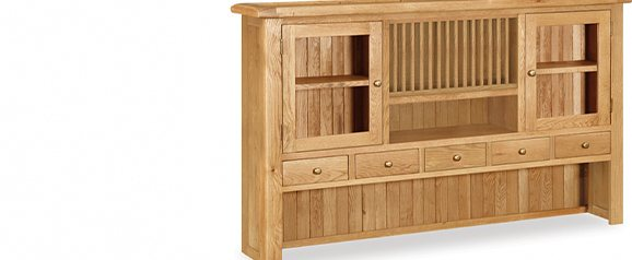 Cheltenham Oak Extra Large Hutch