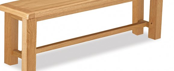 Cheltenham Oak Small Bench