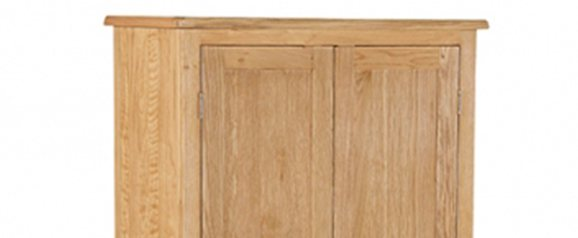 Surrey Oak Compact Gents Wardrobe