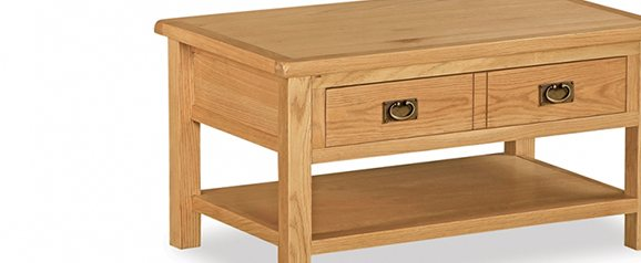 Cheltenham Oak Compact Coffee Table
