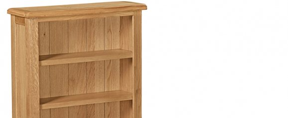 Cheltenham Oak Compact Low Bookcase