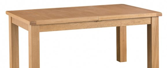 Odessa Oak 1.7m Butterfly Extending Table with Metal Runner