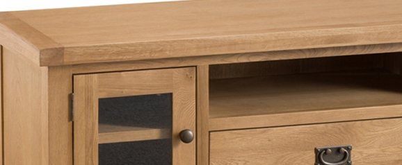 Odessa Oak Low TV Unit