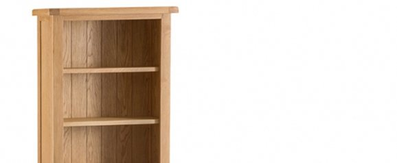 Odessa Oak Medium Bookcase