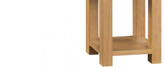 Odessa Oak Side Table