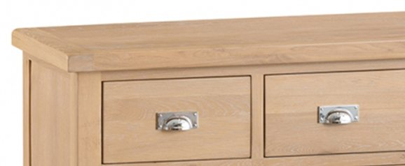 Odessa Wash 4 Over 3 Drawer Chest