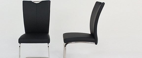 2 x Black Opus Dining Chair