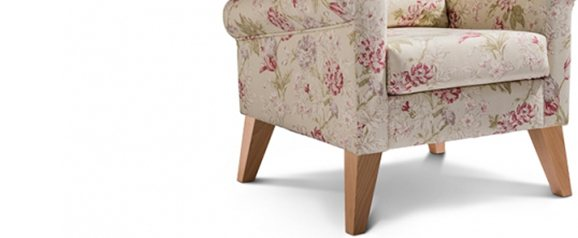 Rexham Accent Chair Campagna Rose