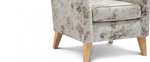 Camille Accent Chair Constance Chintz