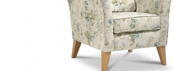 Camille Accent Chair Constance Duck Egg