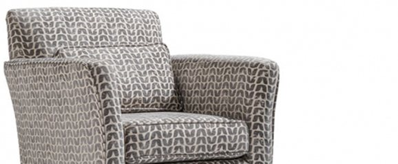 Camille Accent Chair Isla Charcoal