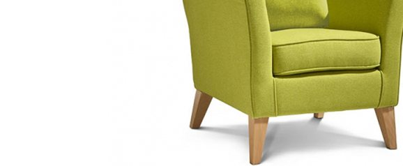 Camille Accent Chair Dolly Citron