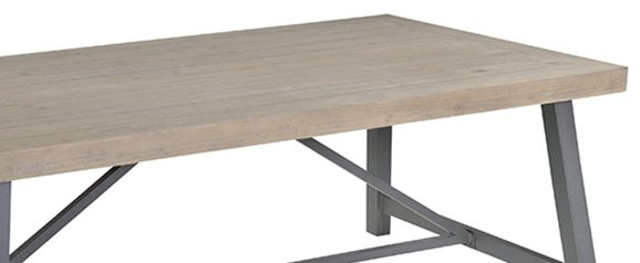 Monet 200x 100 Extendable dining table