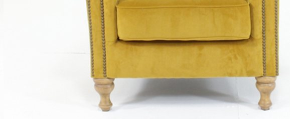 Sofia Chair Tumeric Plush