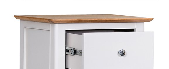 Malmo 4 Drawer Narrow Chest