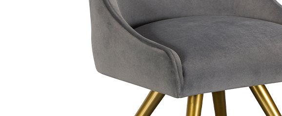 Monroe Grey Dining Chair