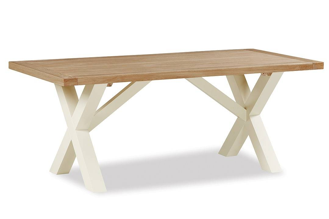country cottage cross dining table 1900 fw homestores