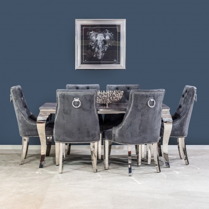 Bartez 160cm Dining Table & Buckingham Chairs