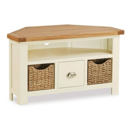 Country Cottage Corner Tv Unit