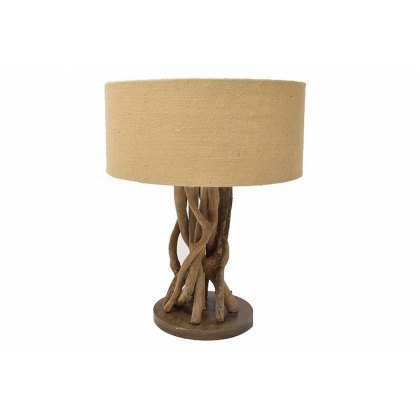 Driftwood Lamp with Shade