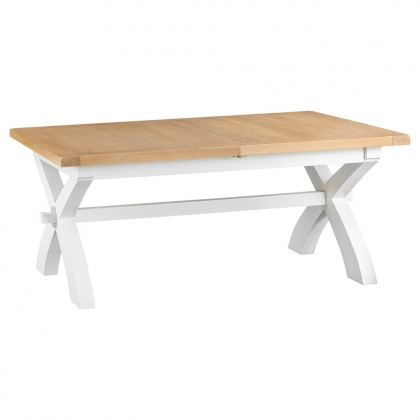 Malvern 1.8m Cross Extending Dining Table