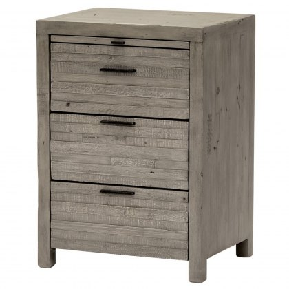 Tuscan Spring 3 Drawer Bedside Table