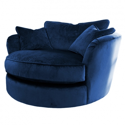 Bella Swivel Cuddler Chair