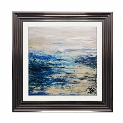 Blue Coast Liquid Wallart