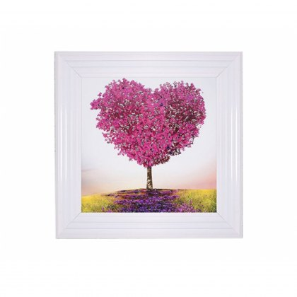 Tree of Love Liquid Artwork with Swarovski Crystals