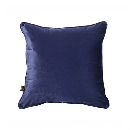 Royal Blue Bellini Velour Cushion