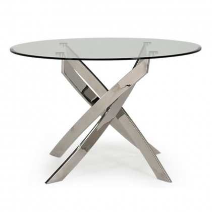 Kalmar Round Dining Table - 110cm