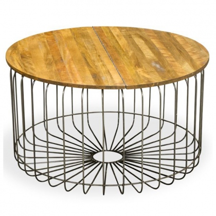 New Horizon Birdcage Round Coffee Table
