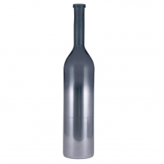 Ombre Platinum Recycled Glass Rioja Bottle 100cm