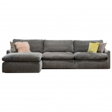 The Cloud Medium Sofa with Footstool
