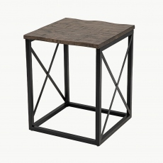New York Lamp Table