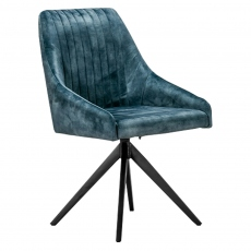 Aiden Blue Dining Chair