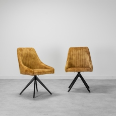 Aiden Mustard Dining Chair (Set of 2)