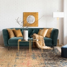 Victoria James Wilson 2 Seater Sofa - Grey