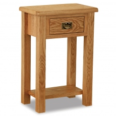 Cheltenham Oak Compact Telephone Table