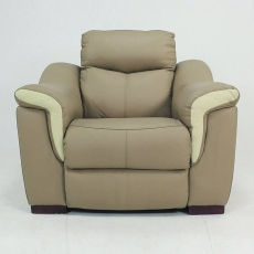Bellini Leather Power Recliner Armchair