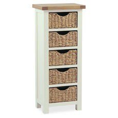 Country Cottage Tallboy With Basket