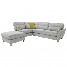 Memphis Small Left Hand Chaise Corner Sofa