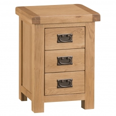 Odessa Oak 3 Drawer Chest