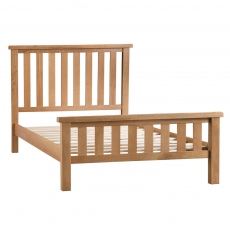 Odessa Oak 4FT6 Double  Bed Frame