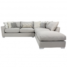 Metro Corner Sofa with Footstool