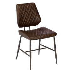 Carson Dining Chair Dark Brown