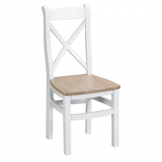 Malvern Cross Back Chair Wooden