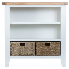 Malvern Small Wide Bookcase