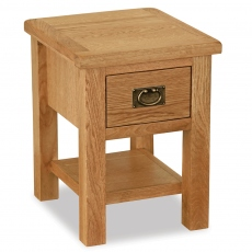 Surrey Oak Compact Lamp Table
